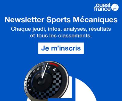 Newsletter Sports mécaniques